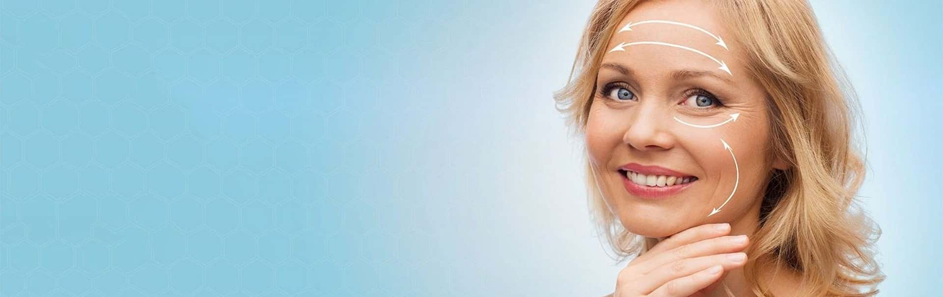 Face Lift Treatment Banner